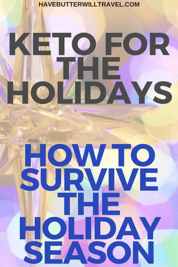 With all the social functions happening during the Holidays we wanted to share our keto for the holidays tips and how to survive the holiday season.