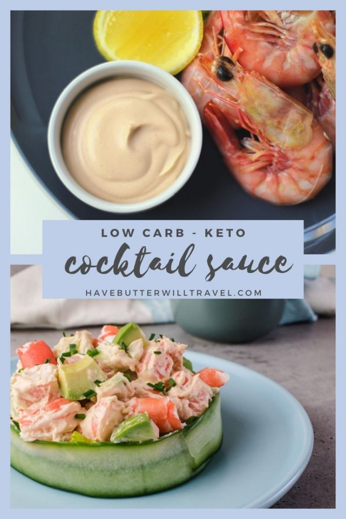 Keto prawn cocktail sauce recipe is perfect to pair with your favourite seafood protein. Great to serve with your prawns at Christmas and during the summer. #ketoprawncocktailsauce #ketoshrimpcocktailsauce #ketoshrimpcocktailsaucerecipe #ketoprawncocktailsaucerecipe #Prawncocktailsauce #prawncocktailsaucerecipe
