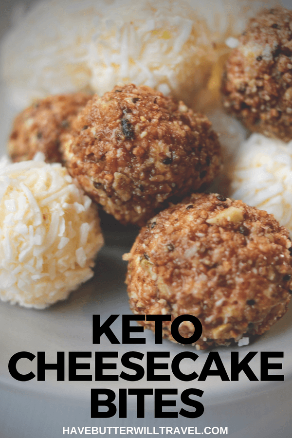 These keto cheesecake bites are perfect to have in the fridge for when you are wanting something sweet. At 1 gram of carb each they are pretty much perfect!