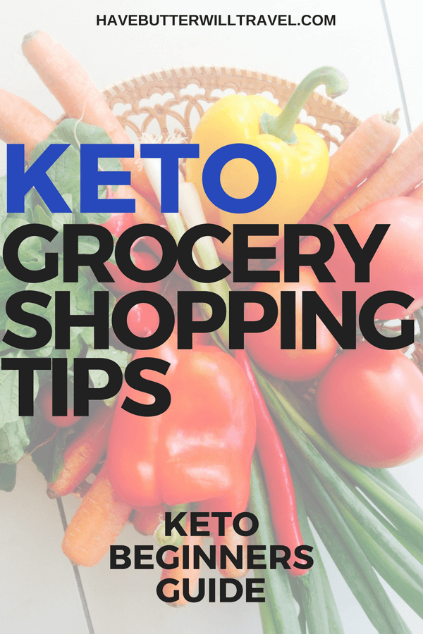 When looking at a ketogenic diet the first steps can be overwhelming. Check out this keto grocery tips to help you better understand buying groceries.