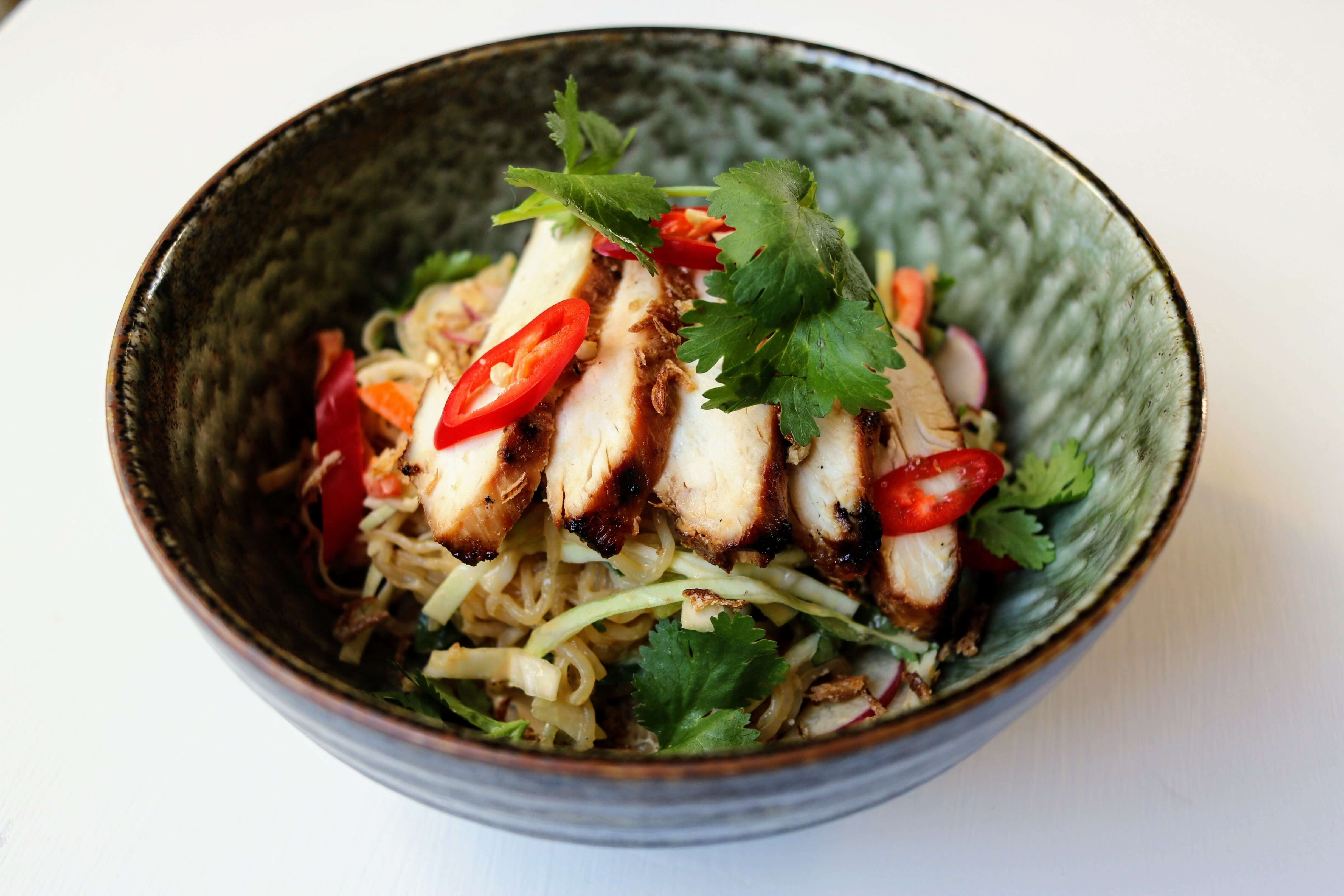 Keto Chicken Salad Asian Noodle Have Butter Will Travel