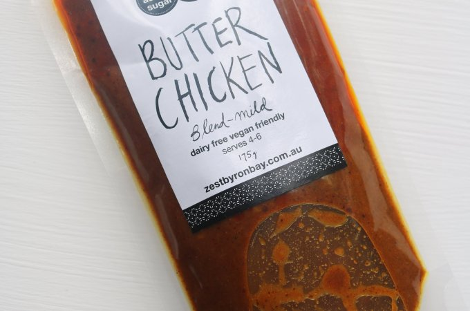 Zest Byron Bay Butter Chicken Recipe Base
