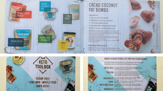 Keto Toolbox December leaflet