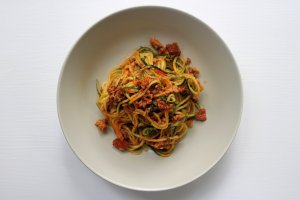 Zoodles serving suggestions