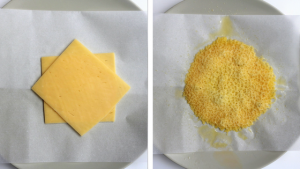 Cheese Shell Tacos step-by-step