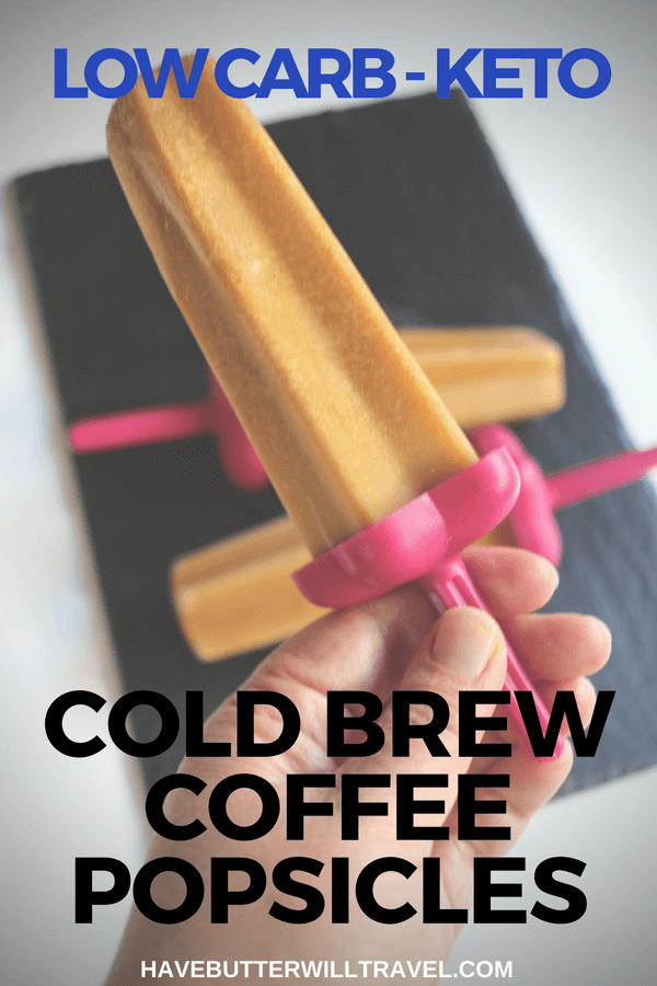 If you are a coffee lover, you are going to love these Keto popsicles. They are perfect for your coffee hit on a hot summers day.