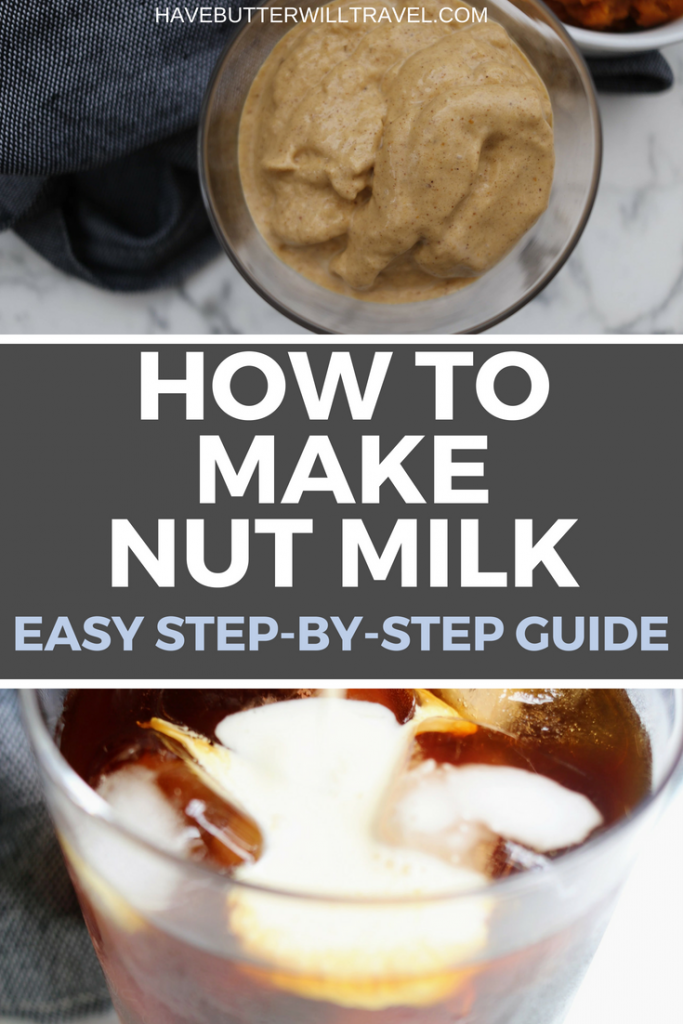 This step by step guide will show you how to make nut milk the simple way. Nut milk is great for vegans and a low carb/keto lifestyle.