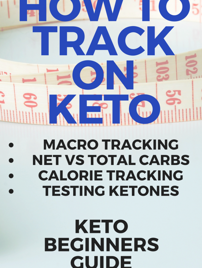 Thinking about keto tracking? Here's your guide to tracking on keto. Includes information on tracking macros, testing ketones and net versus total carbs.