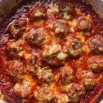 Keto Oven-Baked Meatballs
