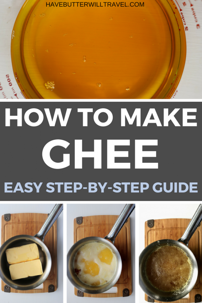 Ghee is very easy to make your own. Check out our step by step guide. How to make ghee is part of the Have Butter will travel 'How to' series.