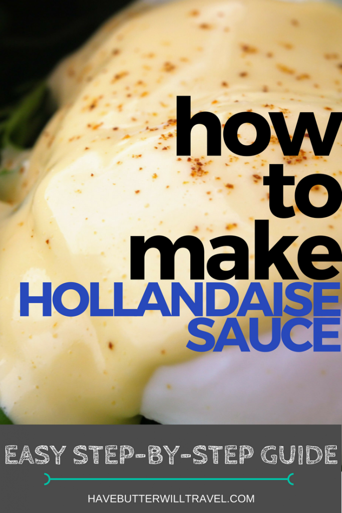 Hollandaise is delicious on eggs for Breakfast. Learning how to make hollandaise will save you money from eating out breakfast every weekend.