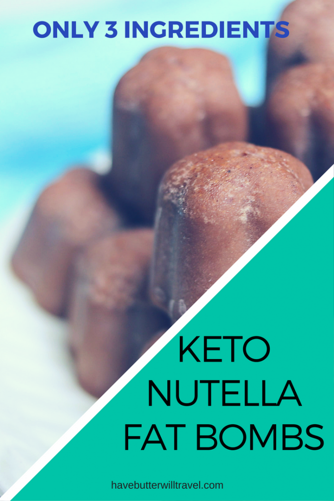 Nutella from the store is full of sugar and no longer an option when adopting the ketogenic way of life. We found using the Perfect Keto Chocolate Collagen gave these Nutella fat bombs the perfect combination of chocolate flavour and sweetness.