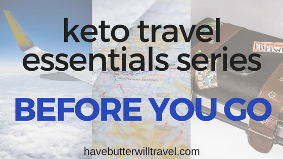 Do you love to travel but haven't been confident to incorporate it into your ketogenic lifestyle yet? Check out our travelling on keto guide.