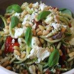 Roasted Capsicum & Zucchini Salad
