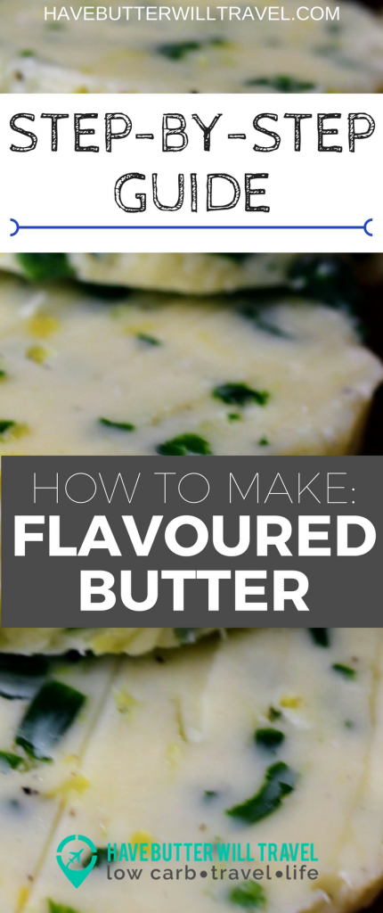 Butter is one of the easiest ways to increase fat in your meal. Making your own flavoured butters to keep in the fridge will give you access to a delicious flavour fat bomb to add quickly to our meal. Knowing how to make flavoured butters is a very easy skill to learn and is instant flavour for your meals.