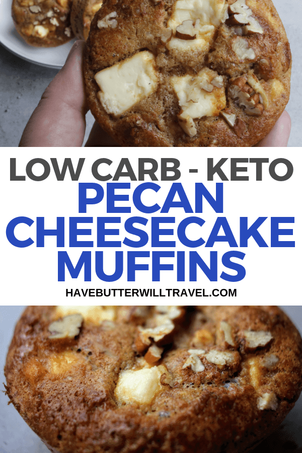 Muffins are a great for when you need quick sweet fix. These sweet keto cheesecake muffins are popular with kids and the non keto family members.