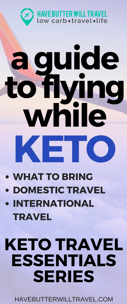 Planning a trip? Not sure how you are going to maintain low carb keto whilst flying? Airports and Aeroplanes are not the best places to find low carb options. This guide will help you feel keto confident when you board your flight.