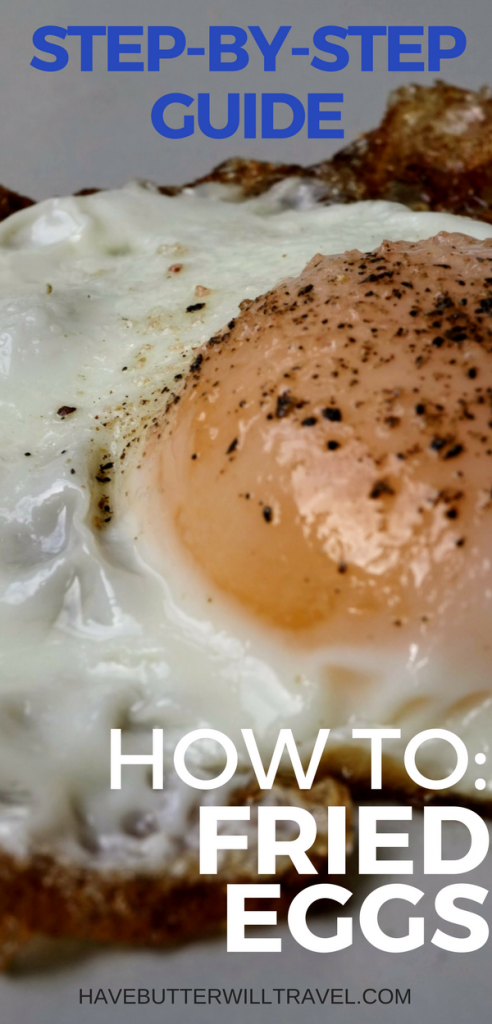 If you are yet to master a fried egg you need to learn how to fry eggs as they are a super quick and nutritious meal or even a great snack.