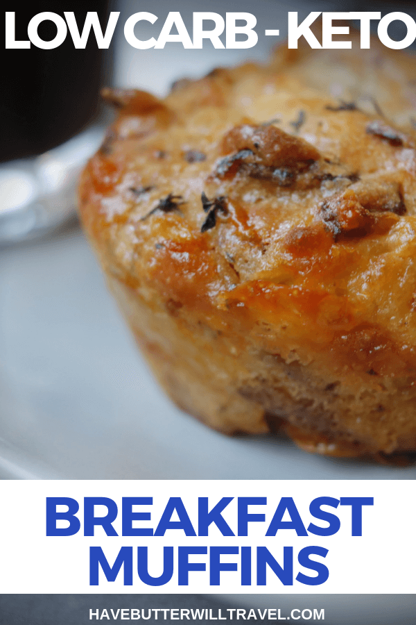 Looking for a low carb breakfast on the go? These keto breakfast muffins will have you cooking these up on the weekend ready for the work week.