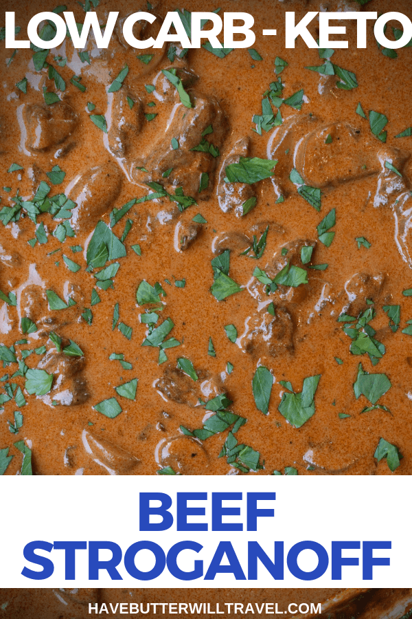 If you have never heard of beef stroganoff now is the time to try this delicious meal. The sauce alone in this Keto beef stroganoff will make you a convert.