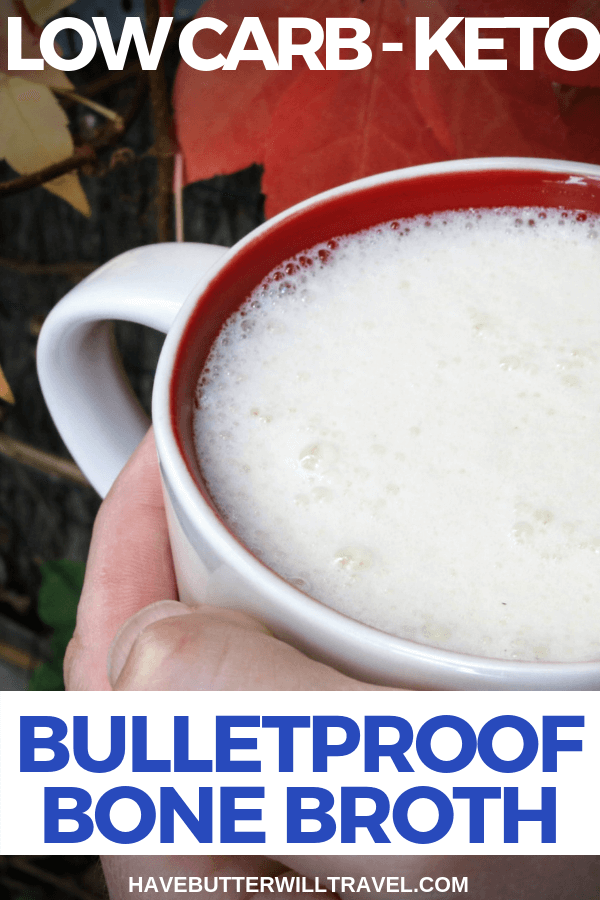 Bulletproof drinks are VERY popular in the keto community. Bulletproof bone broth is a perfect way to incorporate two popular keto drinks together.