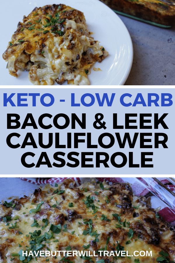 Keto Cauliflower Casserole is a delicious low carb meal. It's really easy to make and rich and decadent. Make sure you give it a try for Dinner.