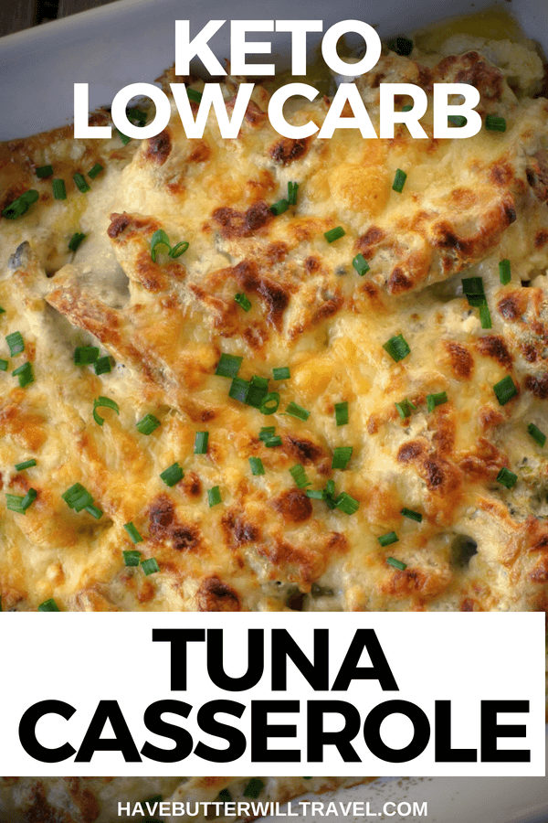 Keto tuna mornay is a great keto family dinner option for busy parents. This Tuna casserole will keep the whole family happy.