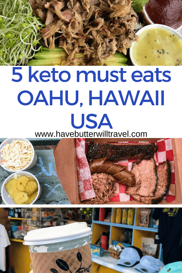 Planning a vacation to Hawaii and want to know the best keto places to eat in Oahu? We have compiled our keto must eats Hawaii to make your trip to Hawaii.