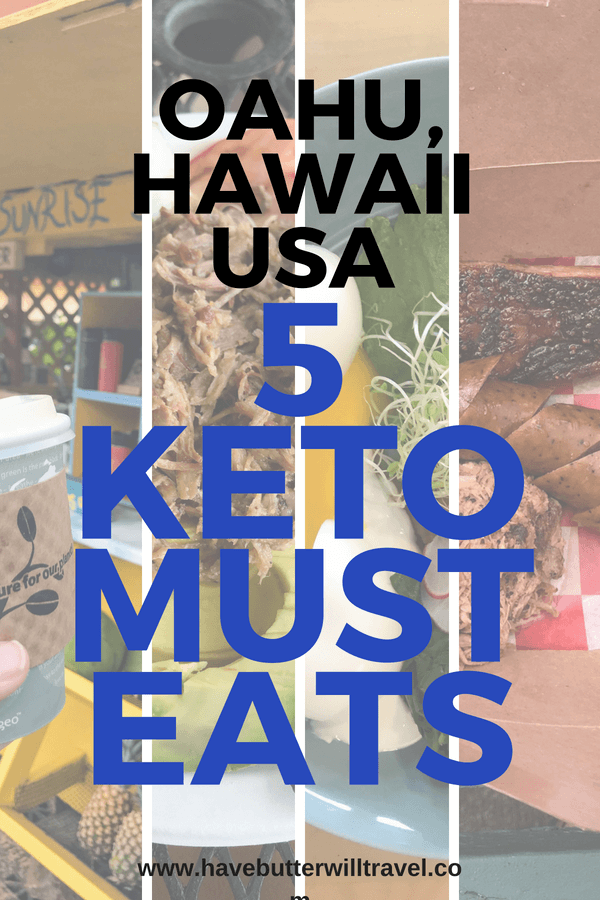 Planning a vacation to Hawaii & want to know the best keto places to eat in Oahu? We have compiled a keto eats Hawaii list to make keto easy on Vacation.