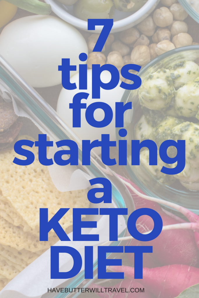 7 Tips For Starting A Keto Diet - Getting Sarted on keto