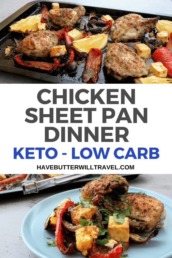 Are you looking for a easy dinner the whole family will love? This keto chicken sheet pan dinner is simple to make and will become a staple in your kitchen.