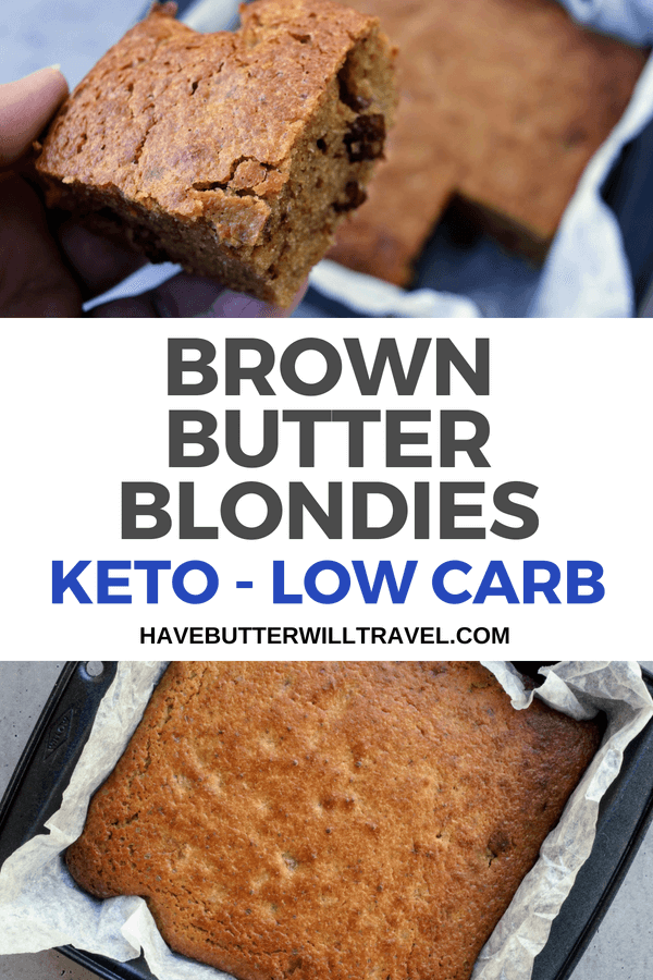 Looking for an quick and easy keto friendly dessert that everyone will love? These keto blondies will please even the fussiest of your non keto friends.
