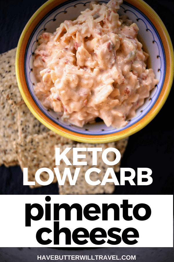 Keto pimento cheese is an excellent option to take to BBQ & potluck get togethers. It's a keto option that will be popular with all your family & friends.