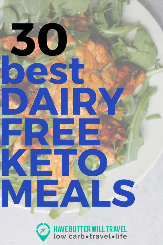 Are you living a dairy free keto lifestyle and are in the search for some meal inspiration? Check these 31 dairy free keto recipes to help get you started.