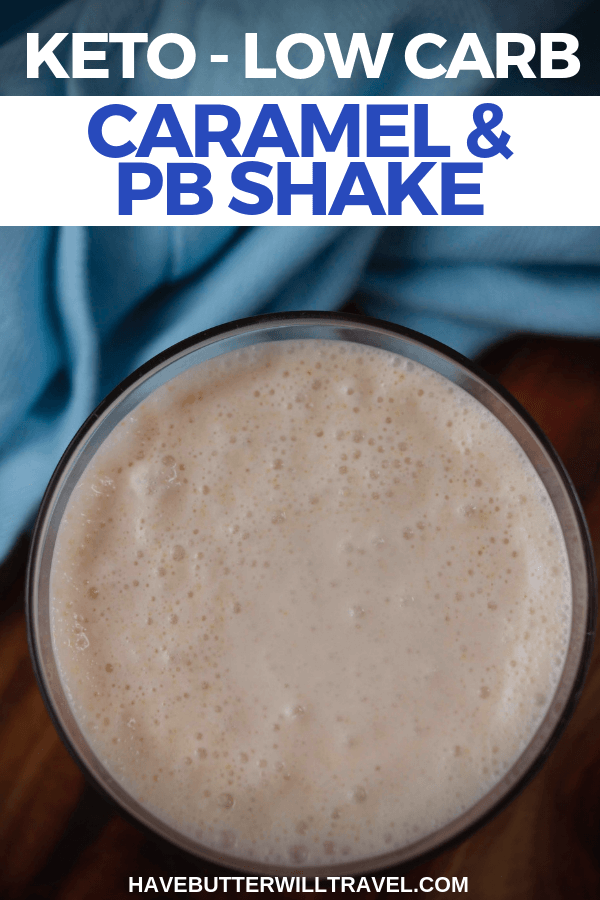 Having you been missing having a shake since being keto? This caramel and peanut butter keto shake is even better than the real thing.