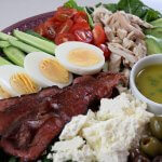 Salads are an excellent keto option for lunch or dinner. They are really quick and easy to put together and this keto salad is great served as a platter.