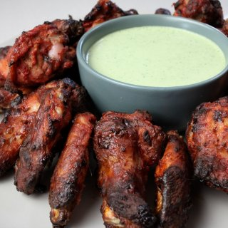 Wings are a simple make at home meal that makes you feel like you're eating out. if you love wings, these tandoori chicken wings will have you wanting more.