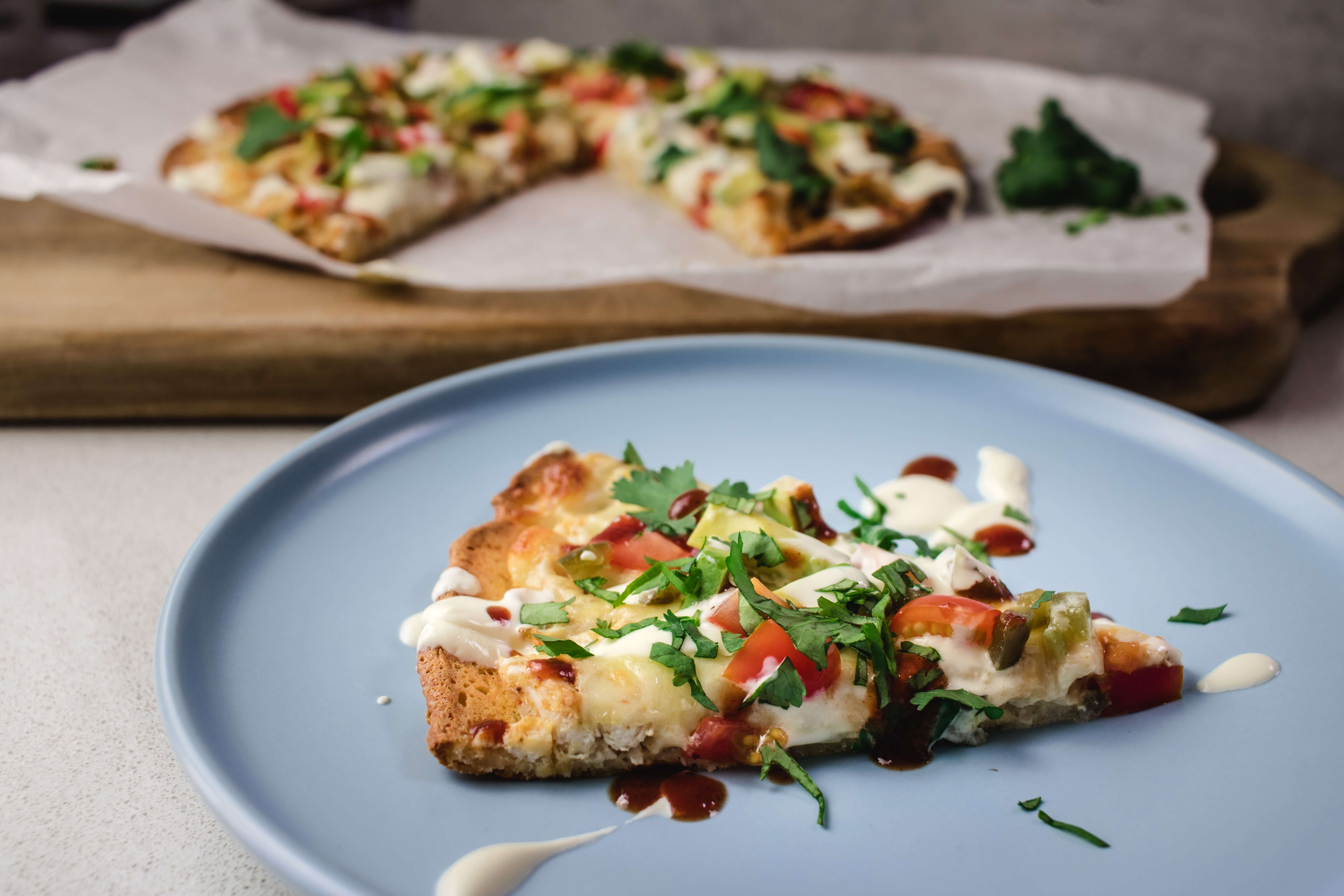 Missing pizza on your ketogenic diet? This keto chicken pizza will statisfy your pizza craving. It uses the ever popular fat head dough and is a winner.