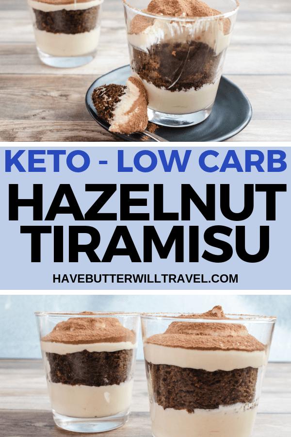 Keto tiramisu is the perfect low carb dessert to end a special dinner. Combining a keto coffee mug cake with a smooth and sliky mascarpone filling. #keto #lowcarb #ketotiramisu
