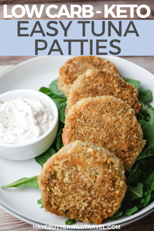Looking for a quick & easy weekday dinner? These keto tuna patties are perfect. Once you try this tuna pattie recipe, it will be added to your favourites.