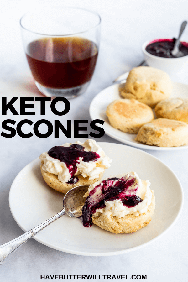 If you are a fan of scones and have been missing since starting a keto lifestyle, this keto scones recipe will be your next favourite. #keto #ketoscones #ketomorningtea #ketoafternoontea #lowcarb #lowcarbscones