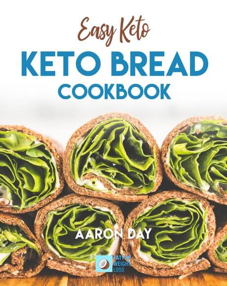keto bread cookbook cover