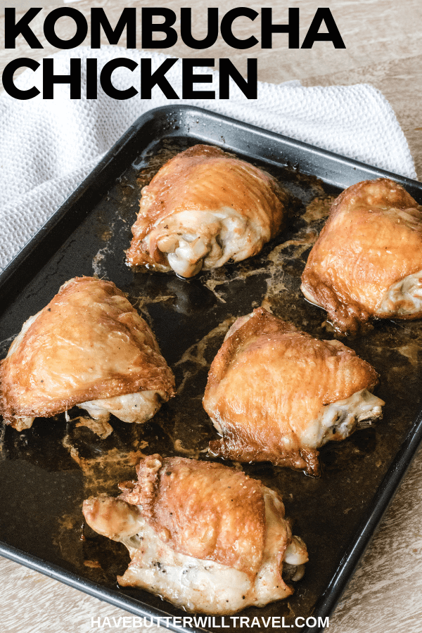 This kombucha marinated chicken recipe is the perfect keto meal. The Asian flavours paired with the kombucha add an amazing flavour. #keto #ketodinner #kombuchachicken #kombuchamarinade #lowcarb #lowcarbdinner