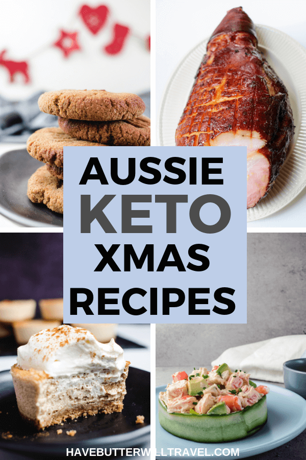 Christmas can be a challenge for some living a keto lifestyle. Here is over 40 keto recipes to help you prepare a wonderful Australian keto Christmas lunch. #ketochristmas #lowcarbchristmas #ketoholidays #lowcarbhoidays