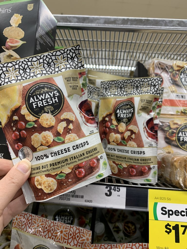 We have found the best keto snacks at Woolworths. Make sure you check out the best snacks available in Australian supermarkets.
