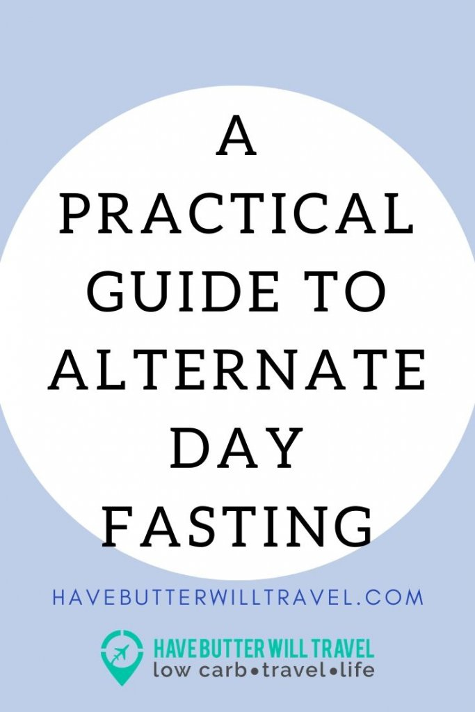 A practical guide to Alternate day fasting that will show you how to implement alternate day fasting into your fasting schedule. #fasting #alternatedayfasting #practicalfastingguide