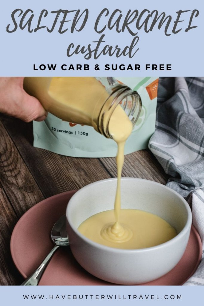 If you love the salted caramel flavours you will definitely want to give this keto salted caramel custard a try. It will quickly become a new favourite. #ketocustard #ketosaltedcaramelcustard #ketodessert