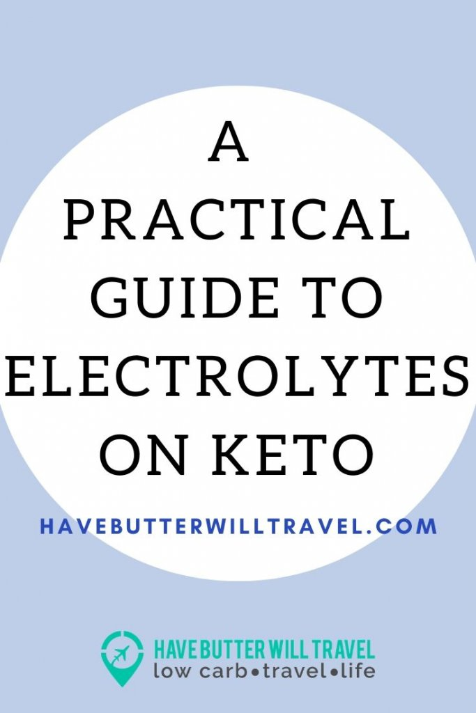 When starting a ketogenic lifestyle you will need to consider electrolytes. Eelectrolytes on keto are important, check out this practical guide. #electrolytes #electrolytesonketo