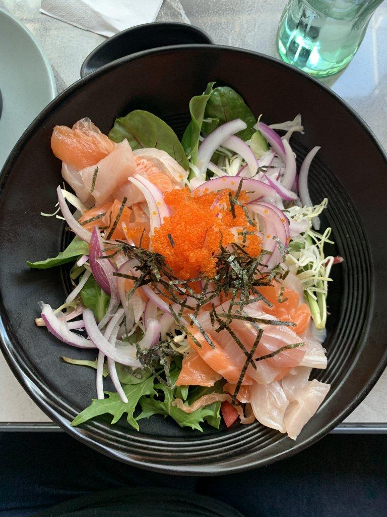 Photo of shashami salad