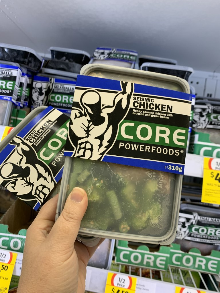 Seismic chicken Core power foods in packet